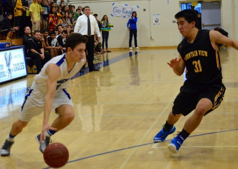 Boys Basketball Falls in Rivalry Game
