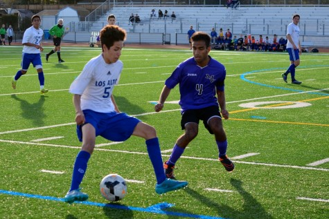 Boys Soccer Holds Firm Against Monta Vista