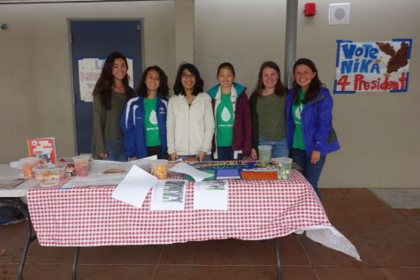 Green Team Wraps Up Earth Week With an Almost Picnic