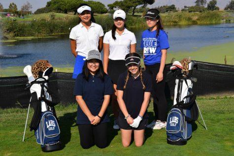 First-year Girls Golf Team in Full Swing