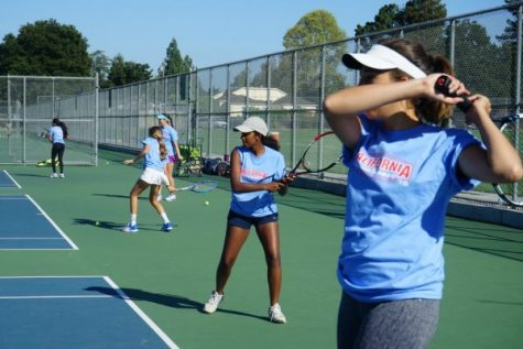 Girls Tennis Starts Season Off Strong