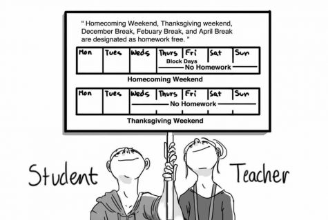 Homework-Free Weekend Spurs Student Concern