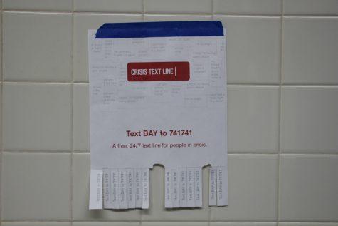 SCL Promotes Crisis Text Line