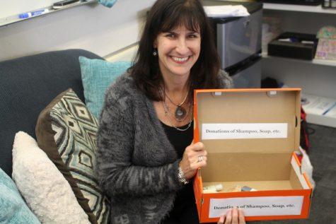 English Teacher Organizes Toiletry Donation Drives