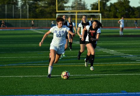 Girls Soccer Scores Dramatic Victory over Gunn