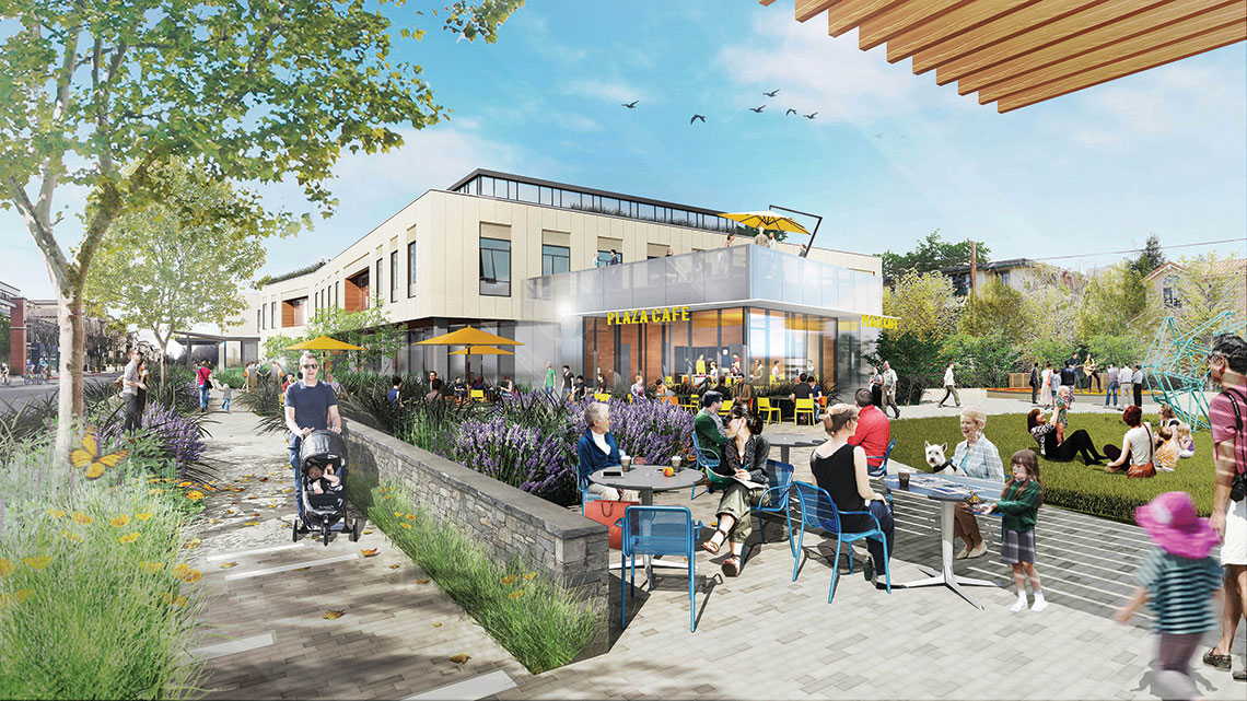 The+development%2C+which+some+residents+believe+will+increase+community+interest+in+the+downtown+area%2C+proposes+a+multi-story+office+building+constructed+adjacent+to+a+public+plaza.+Image+courtesy+Los+Altos+Community+Investments.