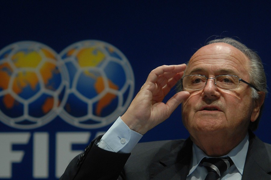 Former FIFA President Sepp Blatter in 2007. Photo courtesy of Wikimedia User Felipe Menegaz