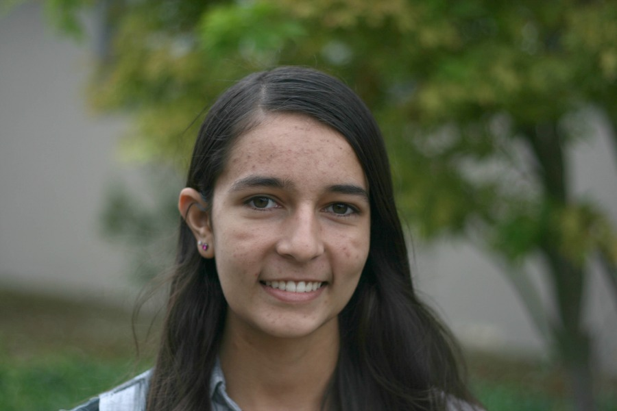 A photo of sophomore Maya Desai, who underwent heart surgery over the summer. Photo by Michael Sieffert.