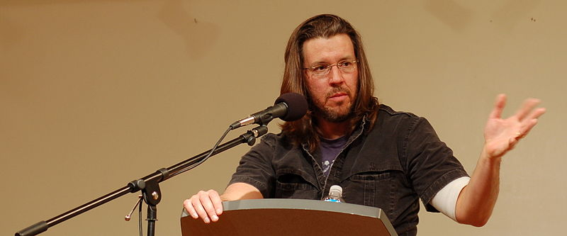 The End of the Tour: De-halo-ing David Foster Wallace