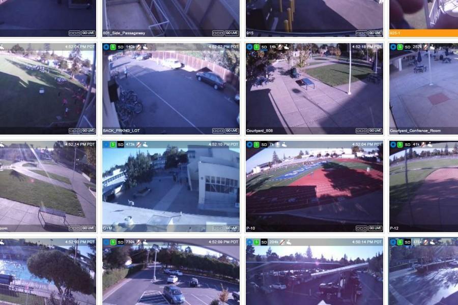 School installs surveillance cameras