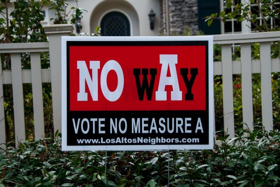 Los+Altos+Voters+Reject+Hillview+Bond+Measure