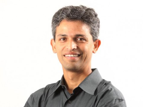 A photo of Vuclip CEO Nickhil Jakatdar. Both Jakatdar and Andrew experienced the world of STEM startups in Silicon Valley from different perspectives. Photo courtesy Akhil Jakatdar.
