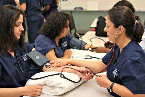 Student Pursues Nursing Through Adult Ed