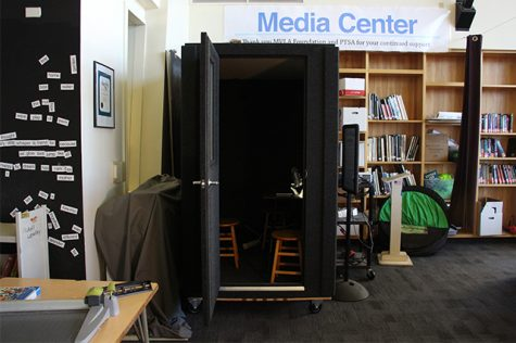 Library Adds New Recording Booth