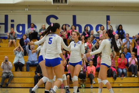 Los Altos Overcomes Paly in Annual Dig Pink Game