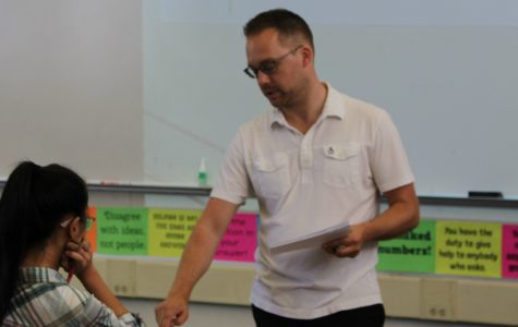 New Math Teacher Stephen Stefanini : Community in Class