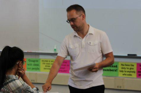 New Math Teacher Stephen Stefanini : Community in Class