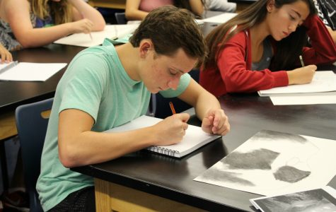 Art Students Create Visual Journals for Mindfulness
