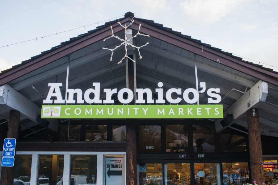 Currently, Andronico's is undergoing renovations to become a Safeway Community Market. Safeway announced this decision in November and intends to preserve Andronico's local identity while improving consumers' experiences. Photo by Danny Vesurai.
