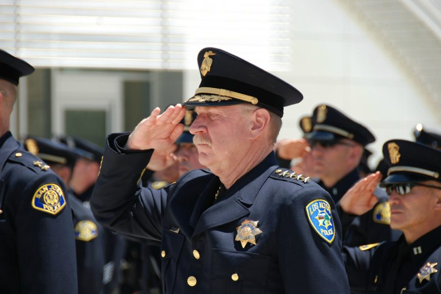 Los Altos police chief Tuck Younis (pictured) retired from the force on December 16, replaced by Captain Andy Galea. Photo by Flickr user a7pointstar.