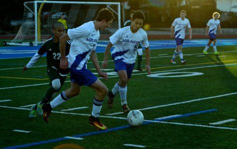 Now in the De Anza Division, Boys Soccer Beats Palo Alto