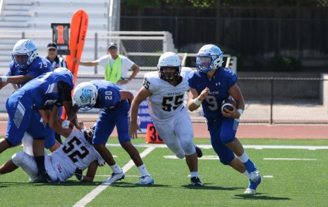 Football Fumbles First Game of the Season