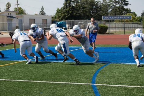 Football Tackles De Anza League