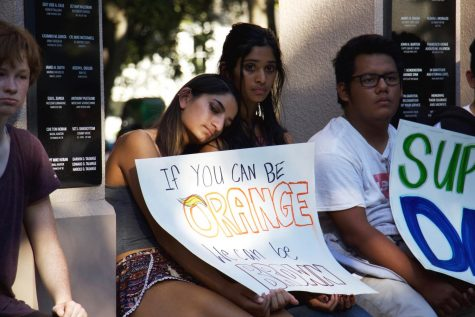 Outspoken and Supportive, Los Altos' March Fostered Campus Solidarity for DACA Recipients
