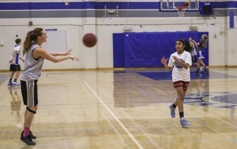 Girls basketball dribbles into new season
