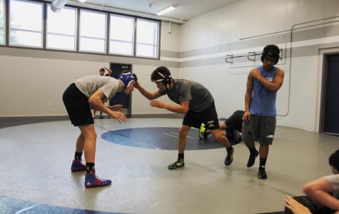 In the Footsteps of Former Head Coach Randy Jimenez, Wrestling Continues to Fight