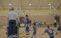 Boys Volleyball Nets Narrow Win Over Mountain View