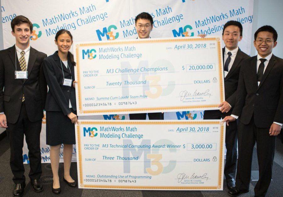 Los Altos Wins National MathWorks Competition & $20,000