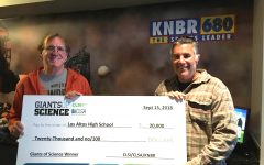 Stoehr wins a Giant grant