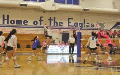 Los Altos Volleyball beats Palo Alto in annual Dig Pink game