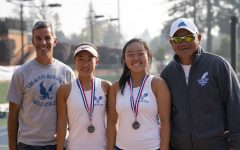 Girls tennis doubles team finishes as CCS semifinalists