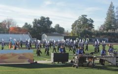 Marching band supports fire victims