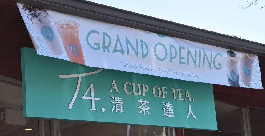 T4 held their grand opening on Thursday, February 14 after several delays due to bad weather. This is the first boba tea shop and second beverage franchise to open a store in downtown Los Altos.