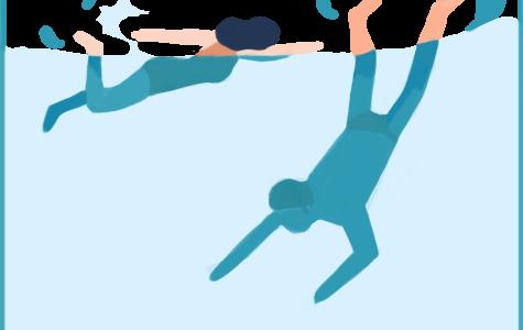 Diving into the freshman swim unit