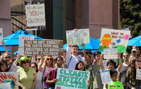 Los Altos students strike for climate advocacy