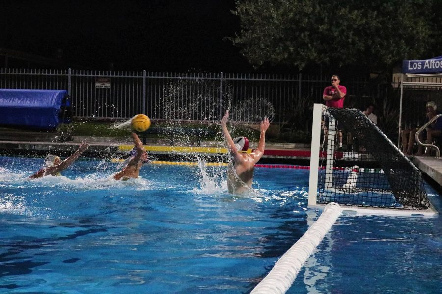 Boys Water Polo secures win against Spartans