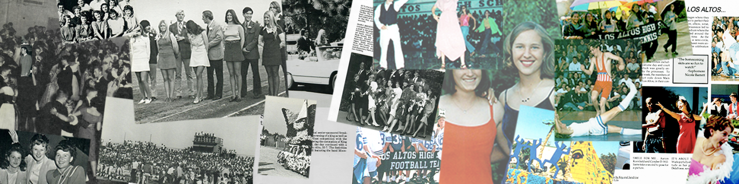 The Talon takes a look at the evolution of Homecoming over the last 65 years of Los Altos's history.