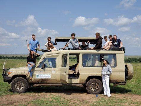 ODFL club members volunteer in Kenya and Nepal