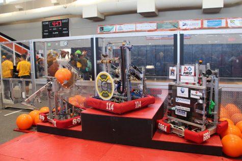 Robotics wins regional CalGames tournament