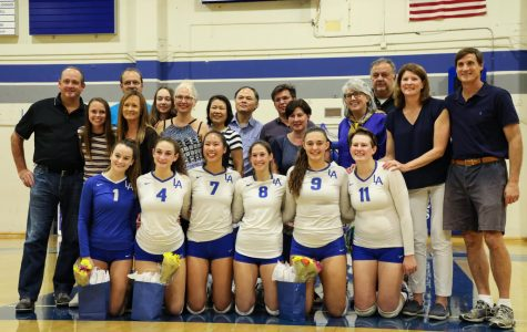 Girls Volleyball says goodbye to seniors and their chance to beat Mountain View