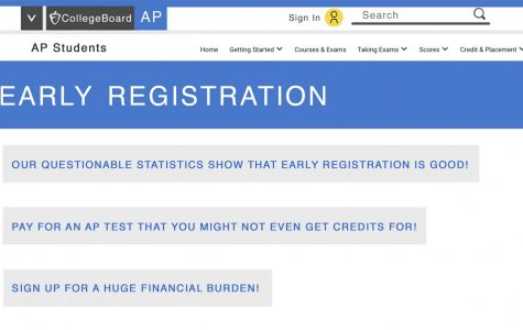 Early AP registration deserves a one