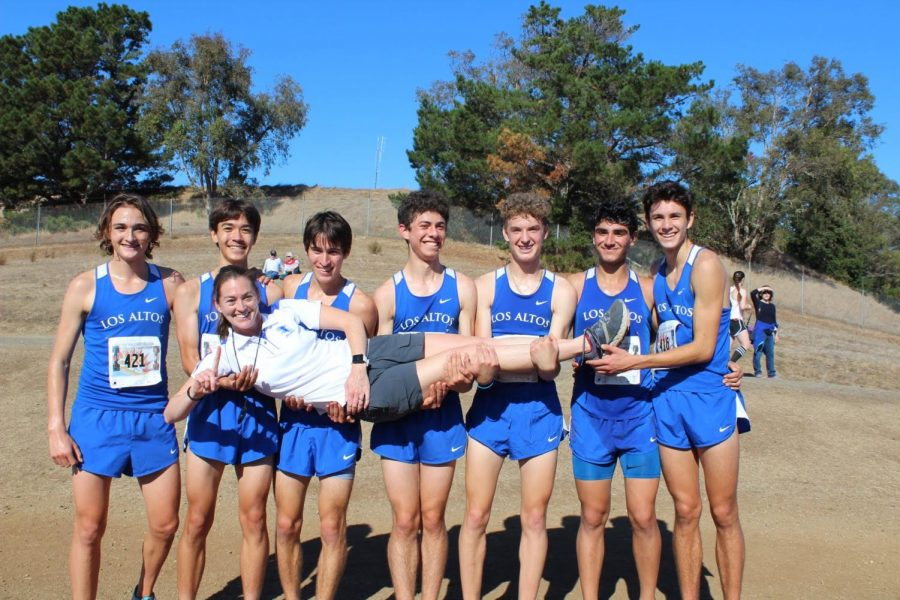 Cross country team makes history at the CIF-CCS Championships
