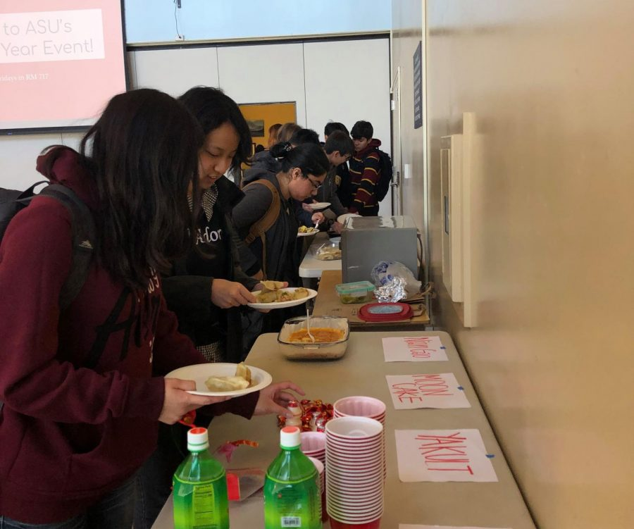ASU organizes Lunar New Year celebration