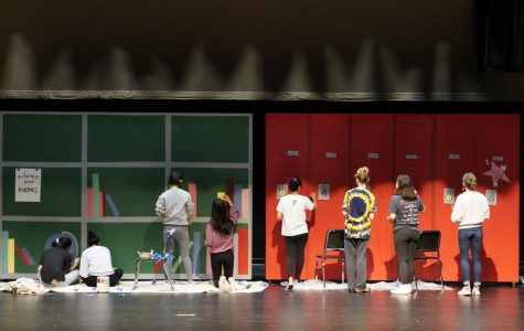 Multiple departments collaborate to make props for musical