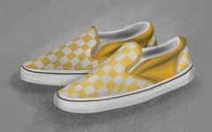 A pair of checkered yellow Vans. Staff Writer Katy Stadler writes about her experiences with being of mixed ethnicity.