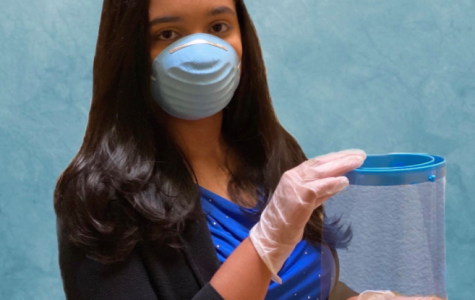 In seventh grade, sophomore Sophia Shams started her STEM non-profit organization The Robonauts. In the midst of the pandemic, Sophia began a subproject under The Robonauts to 3D print face shield parts and supply them to hospitals in need all over the country.